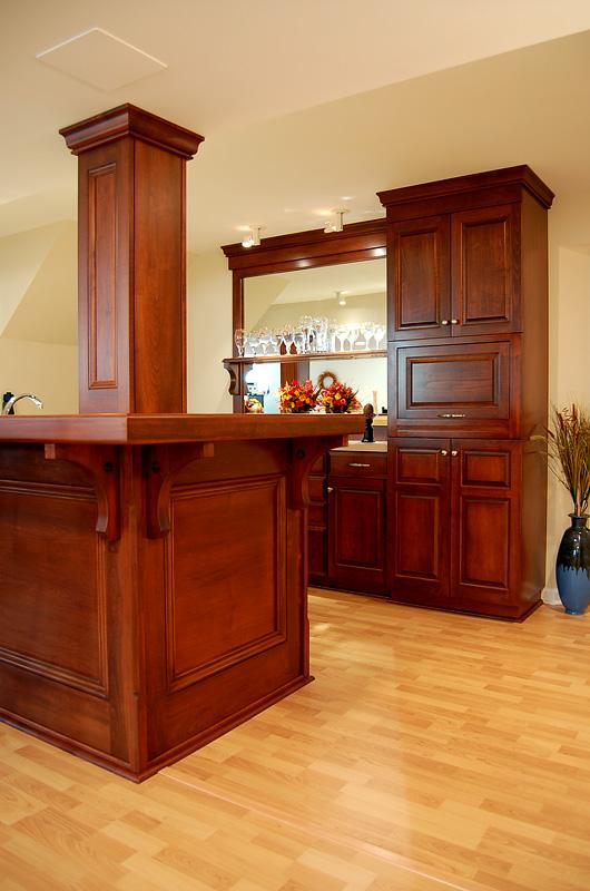 Rowe Carpentry Wet Bar